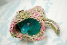Free Pattern: Pacifier Pouch