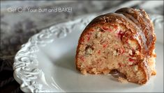 Cherry almond Bundt cake (will use Mom's recipe)