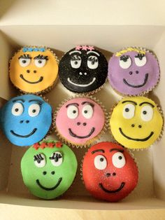 Barbapapa cupcakes for birthday?