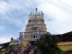 The Mallikarjuna Temple stands on the top of a hill above the village of Mudukuthore near to Talakad