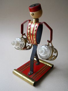 Vintage Bellhop Salt and Pepper Shaker Set by whatnotsandsuch, $48.00