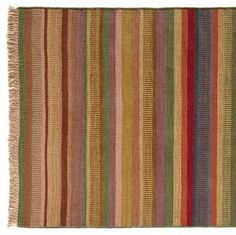 COLOR BAR KILIM 8X10