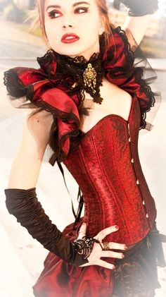 red corset #provestra
