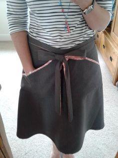 Kate's Miette skirt - love the trim!