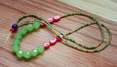 color block, fun necklac, necklac tutori, block necklac