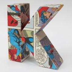 A fun use of comic books!