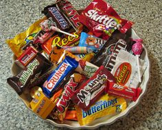 Halloween help:  a handy list of carbs in fun-size candy