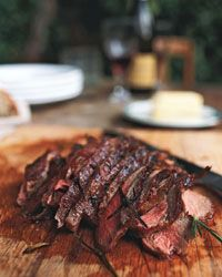 Grilled Leg of Lamb with Garlic and Rosemary Recipe