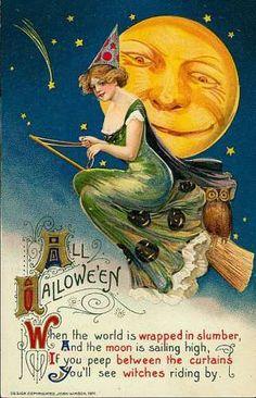 Freebies: Vintage Halloween