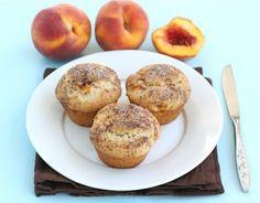 Peaches 'n Cream Muffins | Tasty Kitchen: A Happy Recipe Community!