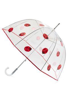 Ladybug Out Umbrella, #ModCloth