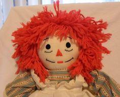 Handmade Raggedy Ann