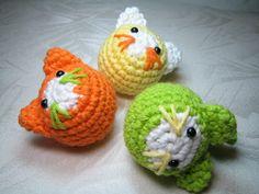 Juggling Cats - free crochet pattern