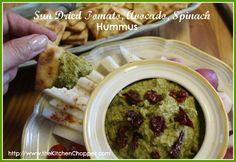 Sun Dried Tomato, Avocado, Spinach Hummus