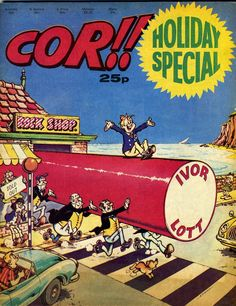1976 COR!!  Used to have all the comics, the holiday specials and the annuals