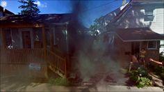 Jon Rafman - burning house, google street view