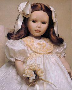 Louise, a porcelain 19.5 inch doll by Pauline Bjonness-Jacobsen LE 1500