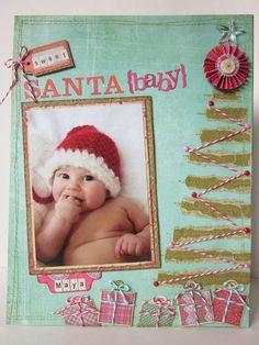 Awwwww cute Christmas layout!