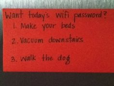 A brilliant parenting technique for controlling your internet-addicted kids. (ROFL...I may have to try this!)