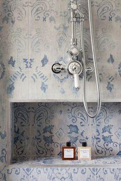 Bathroom Tile | Oakhill Court by Ardesia Design