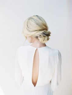 Wedding hairstyle | Pin discovered by Kelly's Closet bridal boutique in Atlanta, Georgia