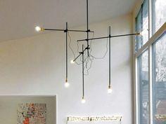 industrial chandelier diy inspiration