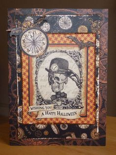 Happy Halloween! - Scrapbook.com- handmade Halloween cards are perfect with a side of spooky treats for a neighbor or friend!