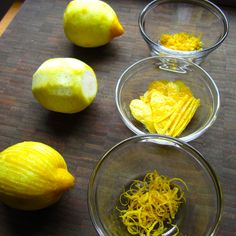 How to Zest (peel) a Lemon or Any Other Citrus Fruit in Three Easy Ways