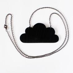 Cloud of vinyl #1 - Necklace - Necklaces - JEWELRY