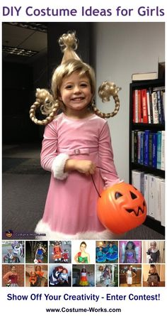Cindy Lou Who - a lot of DIY costume ideas for girls!