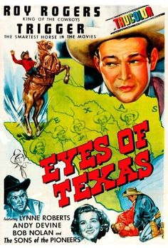 Roy Rogers as Sheriff Roy Rogers in EYES OF TEXAS