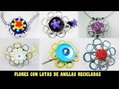 Episodio 620 - Cómo hacer flores y accesorios con anillas de latas