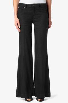 HUDSON, Gwen Mid-Rise Wide Leg, black, Women / Wide Leg, WM338WRL-BLK