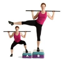 Sumo Squat And Leg Raise -- Works core, hips, glutes, hamstrings, and quads