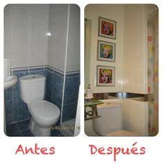 Antes despues on pinterest grey yellow bedrooms - Pintar azulejos cocina antes y despues ...