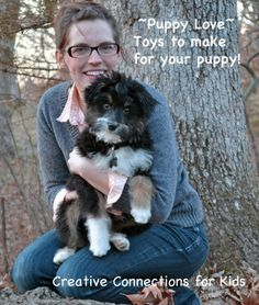 DIY ~ Frugal toys for you pup!