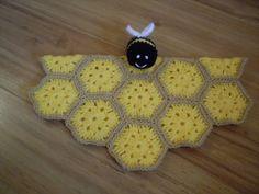 Ravelry: Bee Baby Security Blanket Lovey Comforter Blankie Toy Crochet Pattern pattern by Peach. Unicorn