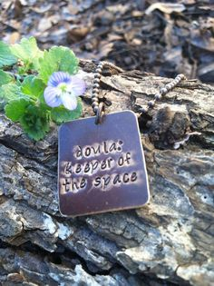 Doula Gift Doula Necklace Doula Jewelry Doula quote Necklace Mom Mothers Day Graduation Gift New Job Natural Birth