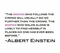 life motto, soo true, thought, inspir, albert einstein, walk, true genius, quot, live