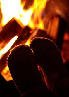 Warm Socks = Warm Toes.