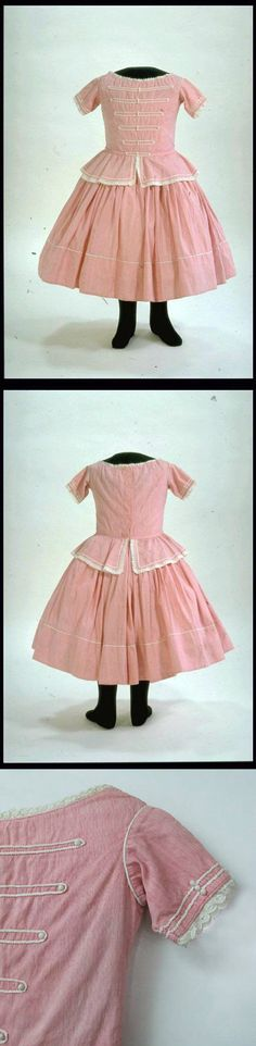 Child's Dress, 1861-1870, via the Museum of London.