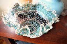 Morning Glory Bowl by c shultz, via Flickr  Yay! It's done! FINALLY!!
