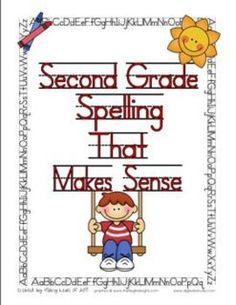 Second grade spelling lists based on word families and 2nd grade skills. Lists for an entire year long spelling program. $9.99 @Hilary Lewis @hilary35t