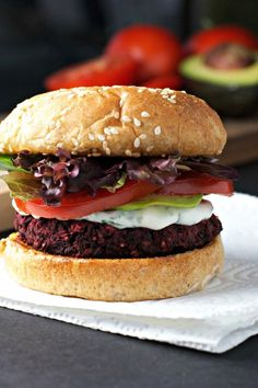Black Bean and Beet Burgers     |      Save and organize your favourite recipes on your iPhone and iPad with @RecipeTin! Find out more www.recipetinapp.com    #recipes #vegan #burgers