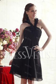 Halter A-Line Knee-Length Nadya's Cocktail/Party Dress
