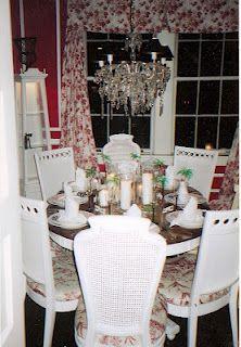 Valentine Red dining..