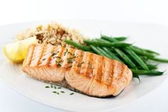 From salmon to tomatoes to garlic, the ingredients in this delicious meal all have properties that can help your ticker. So dig in, guilt-free.
