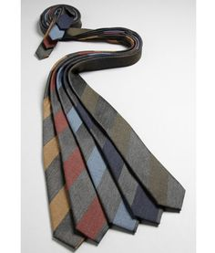 Gitman Bros. also make some pretty sweet stripe wool ties in addition to their finely crafted shirts! Gitman Vintage, a division of Gitman Bros., makes their finely crafted clothes in America with union members from Workers United!