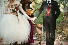 Victorian Steampunk Wedding