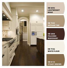 wall colors, interior colors, warm colors, color combos, kitchen colors, bedroom colors, paint colors, color idea, color scheme